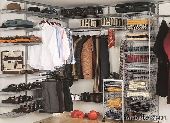 Для чего необходима гардеробная