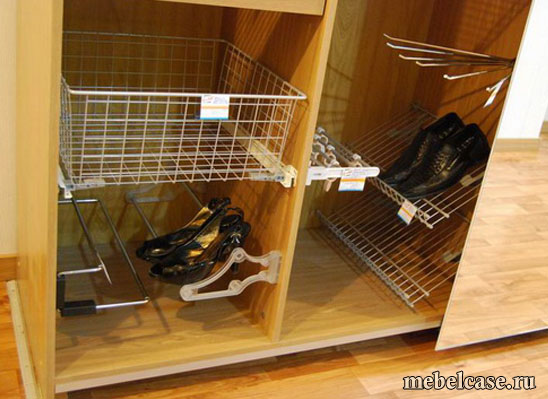Внутреннее наполнение шкафа-купе - шкафы-купе кухни мебель н.